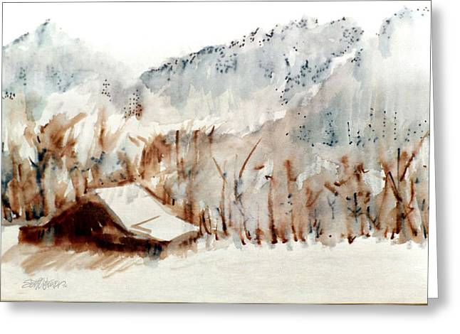 Cold Cove Greeting Card