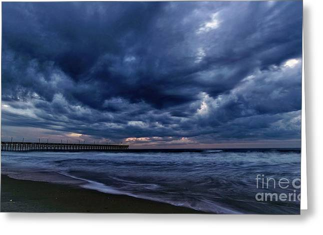 Greeting Card featuring the photograph Cold Front by DJA Images