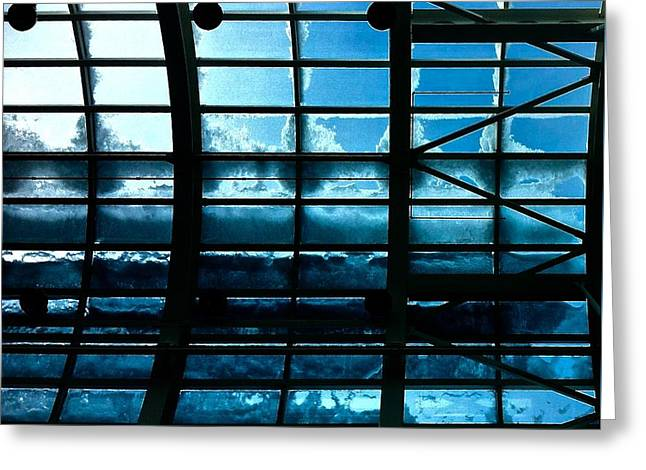 Cold Glass Greeting Card by Brian Sereda