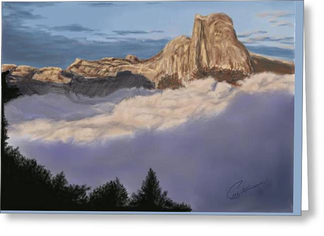 Cold Mountains Greeting Card