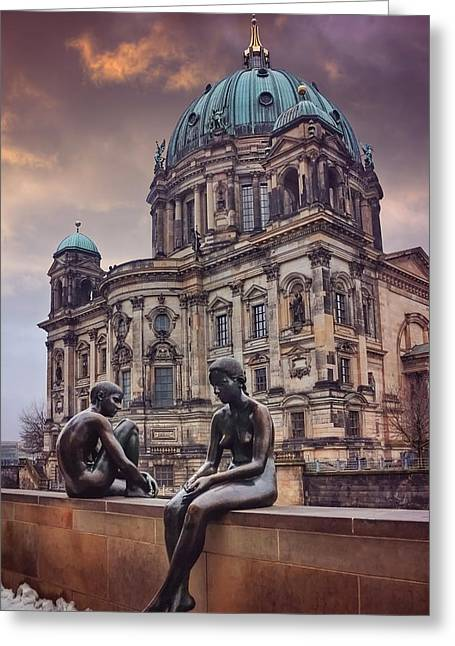Cold Shoulder In Berlin Greeting Card