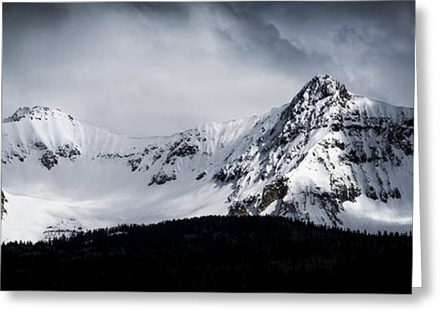 Greeting Card featuring the photograph Cold Spring - San Juan Mountains, Colorado by The Forests Edge Photography - Diane Sandoval