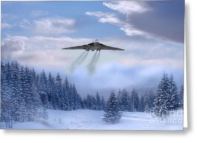 Cold War Bomber Greeting Card