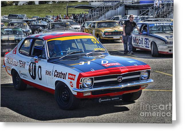 Colin Bond Torana Gtr Greeting Card