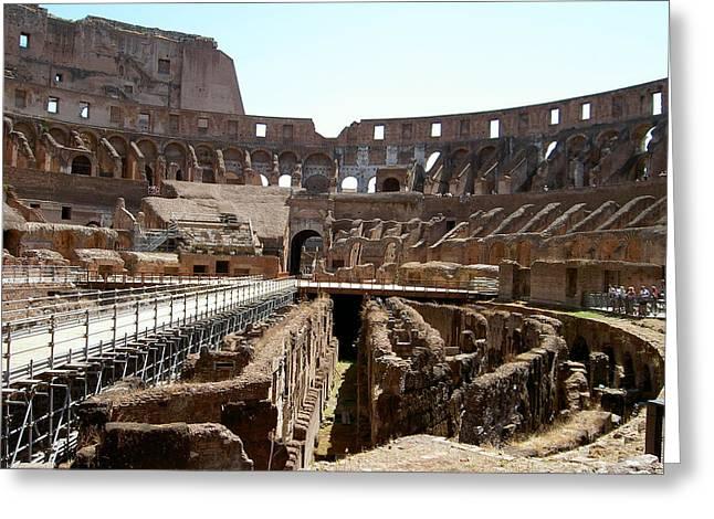 Coliseum 2 Greeting Card by Blima Efraim