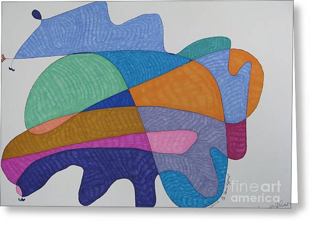 Collaboration With Laureen Greeting Card by James SheppardIII
