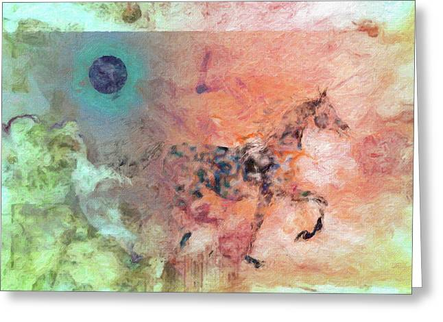 Moon eclipse greeting cards page 7 of 87 fine art america collage 7 greeting card m4hsunfo