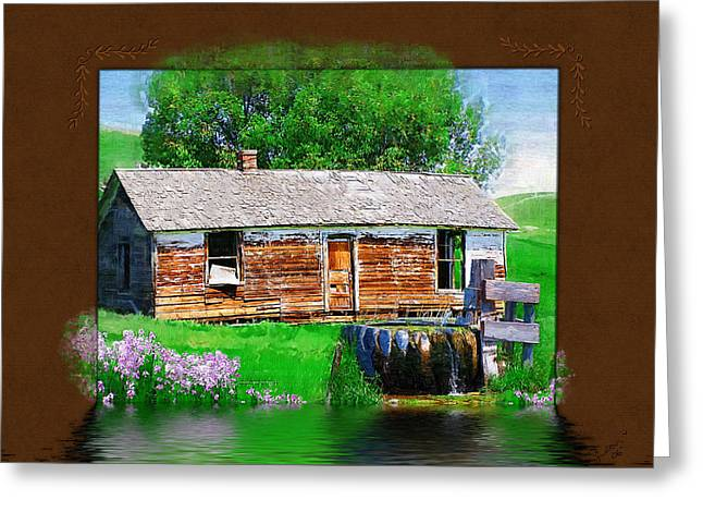 Greeting Card featuring the photograph Collage by Susan Kinney