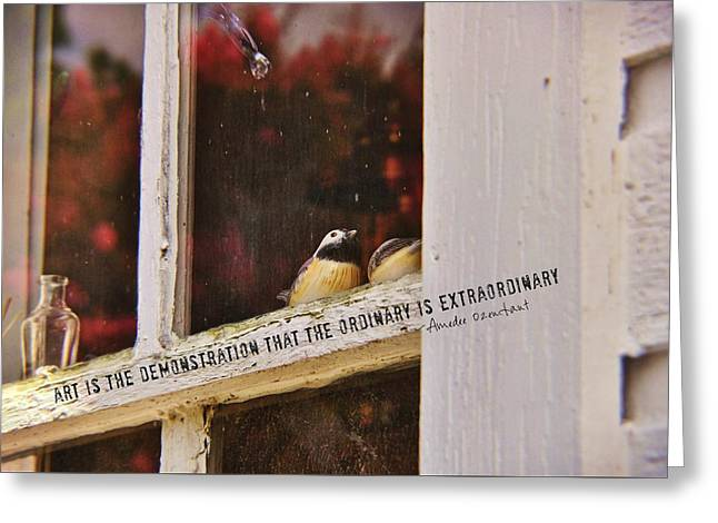 Collectibles Quote Greeting Card by JAMART Photography