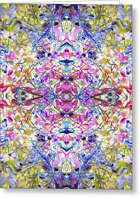 Collective Dream Ascends Greeting Card