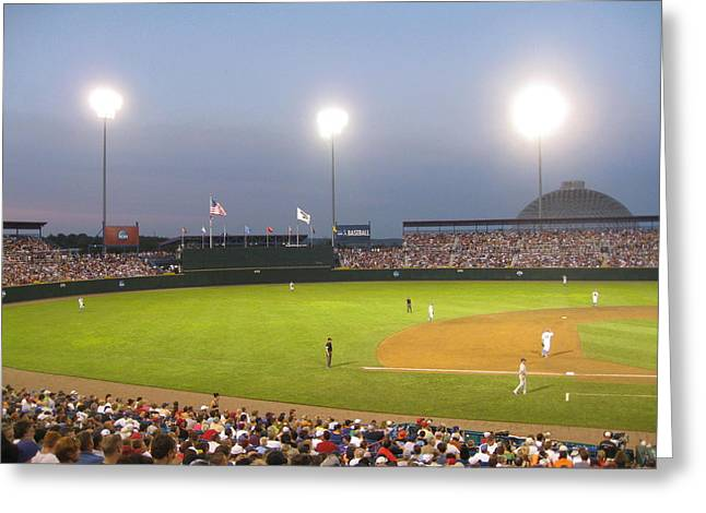 College World Series 2010 Greeting Card