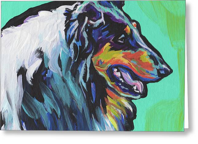 Collie Collie Greeting Card