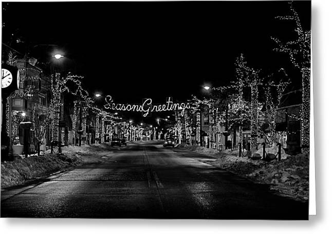 Collingswood Christmas Greeting Card by Shawn Colborn