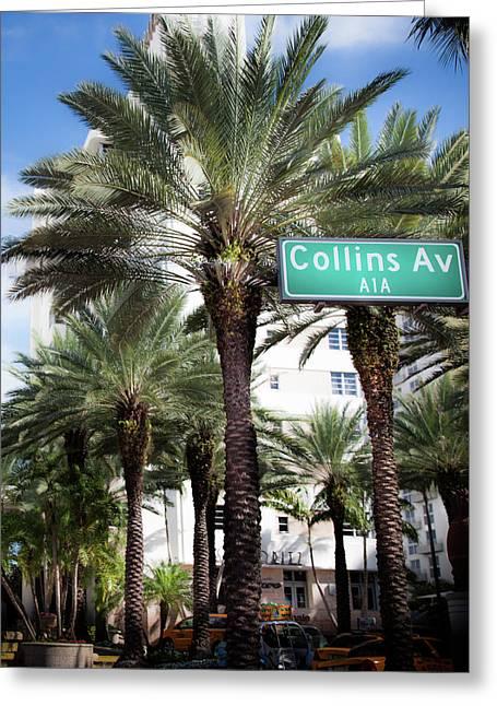 Collins Av A1a Greeting Card