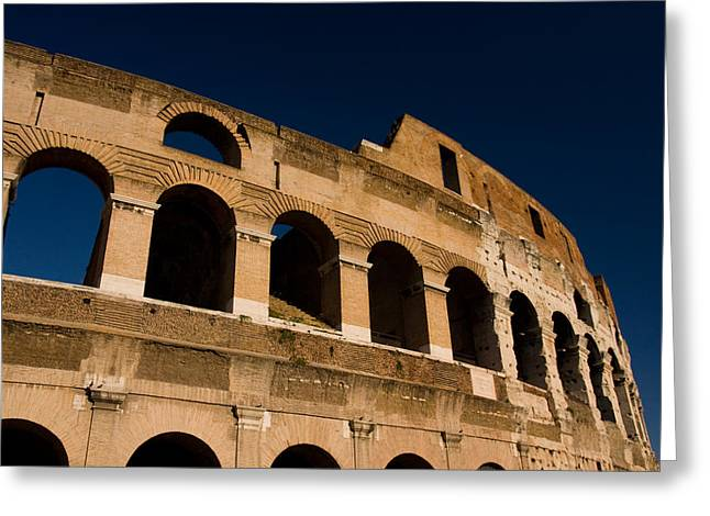 Colliseum 14 Greeting Card by Art Ferrier