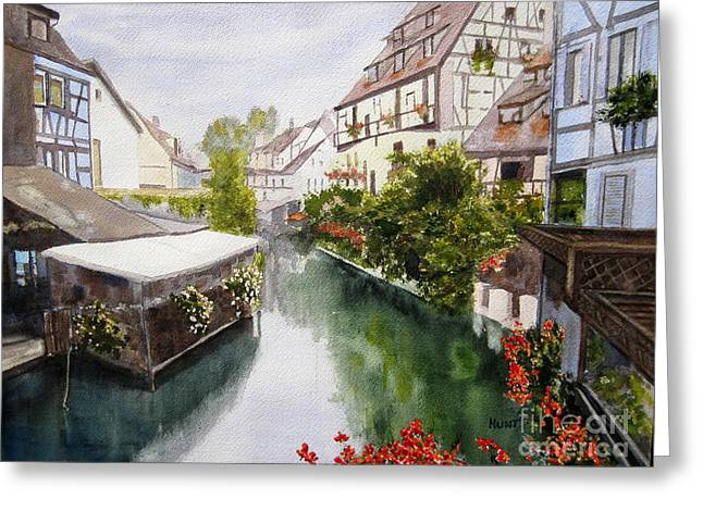 Colmar Canal Greeting Card