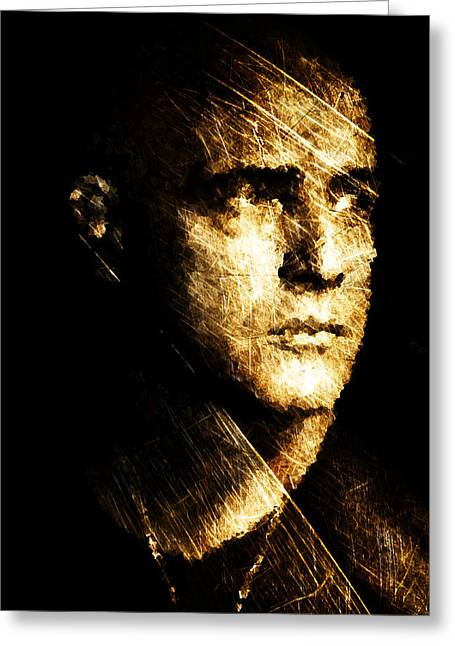 Colonel Kurtz Greeting Card