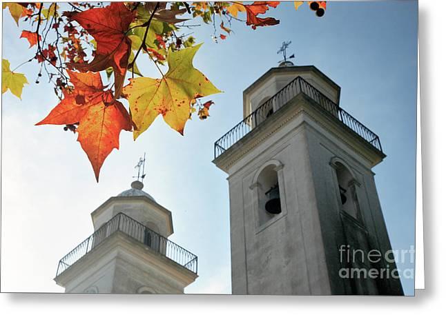 Greeting Card featuring the photograph Colonia Del Sacramento Church by Bernardo Galmarini