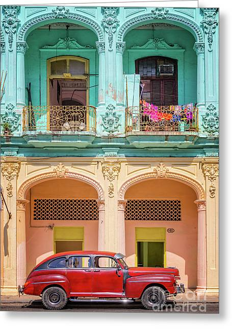 Colonial Architecture Greeting Card