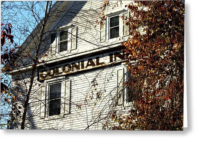 Colonial Inn Greeting Card