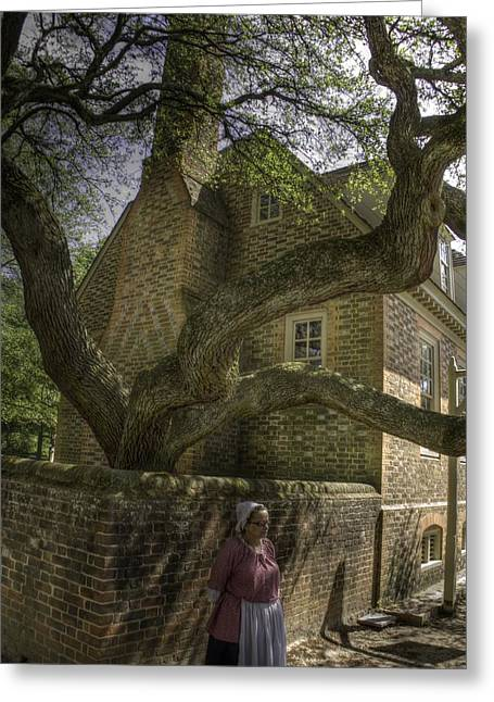 Colonial Williamsburg  V11 Greeting Card