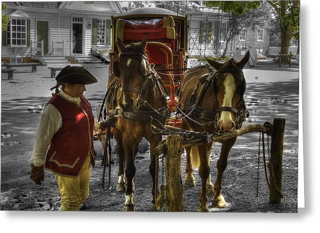 Colonial Williamsburg  V15 Greeting Card