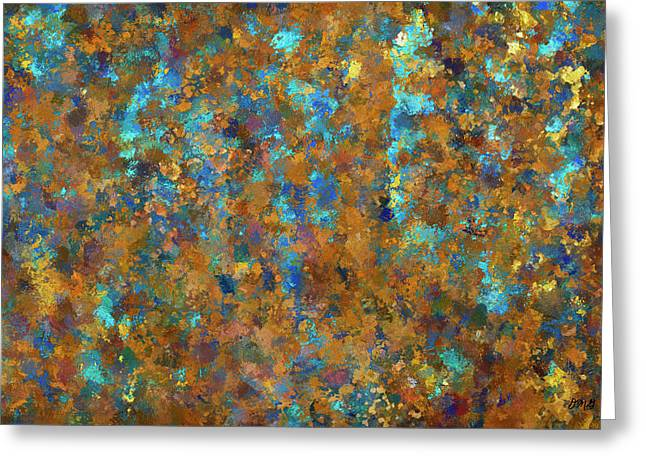 Color Abstraction Lxxiv Greeting Card