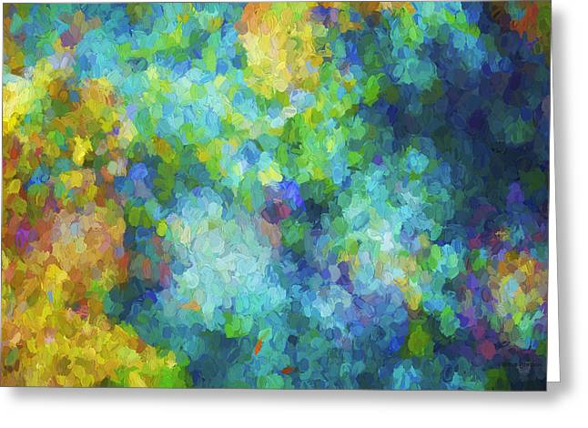 Color Abstraction Xliv Greeting Card