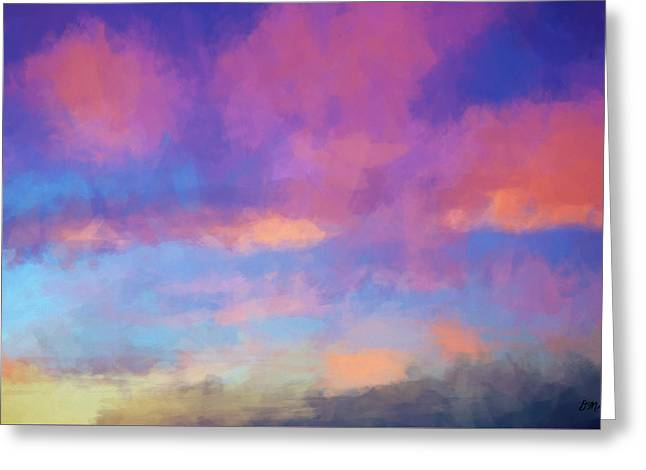 Color Abstraction Xlviii - Sunset Greeting Card