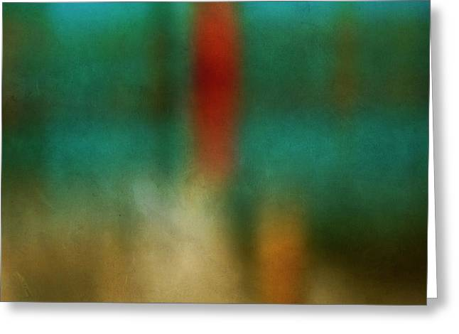 Color Abstraction Xxvi Greeting Card by David Gordon