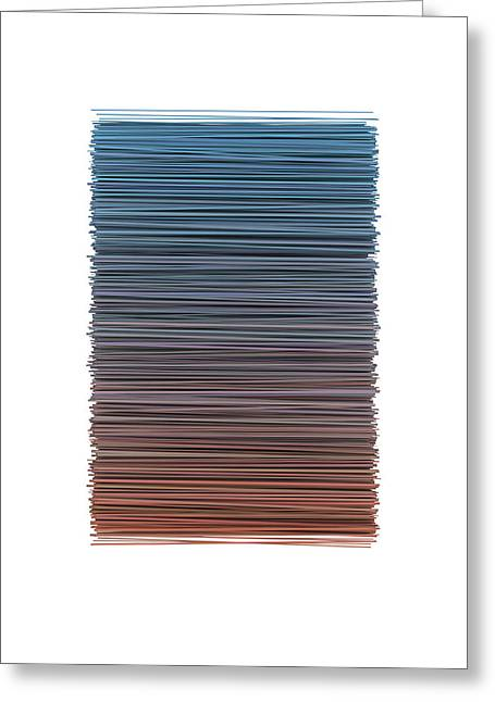 Color And Lines 4 Greeting Card
