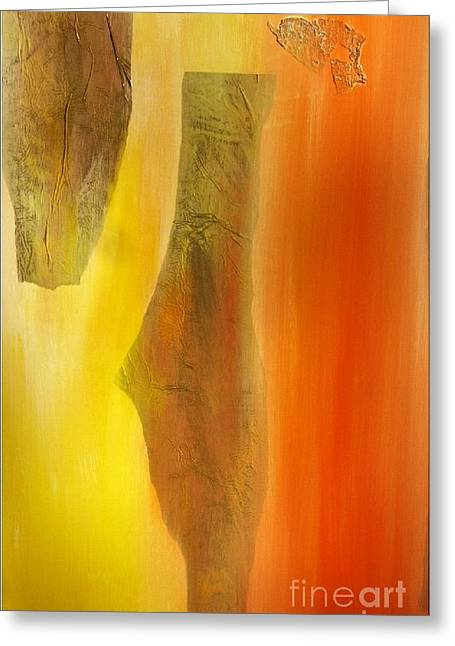 color and passion C Greeting Card by Mimo Krouzian