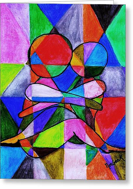 Color Blind Greeting Card by Thomas J Norbeck