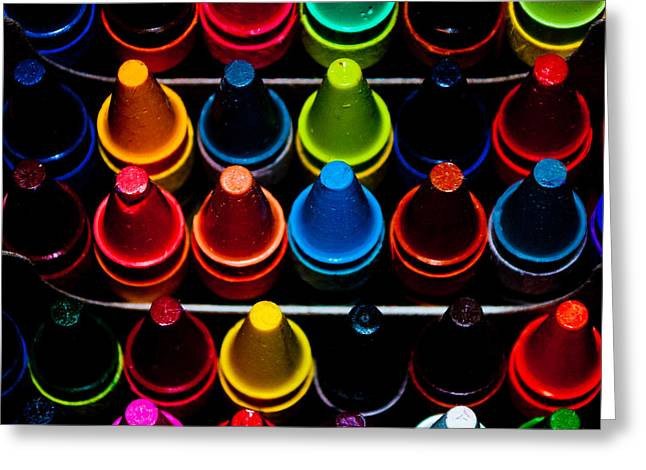 Color Creation Greeting Card by Colleen Coccia