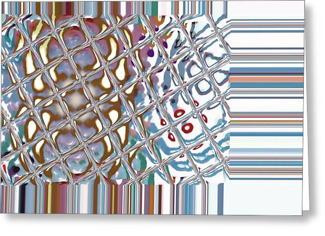 Color Crystal Greeting Card by Thomas Smith