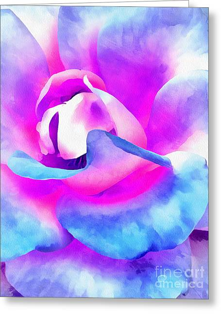 Color Of Charisma Greeting Card