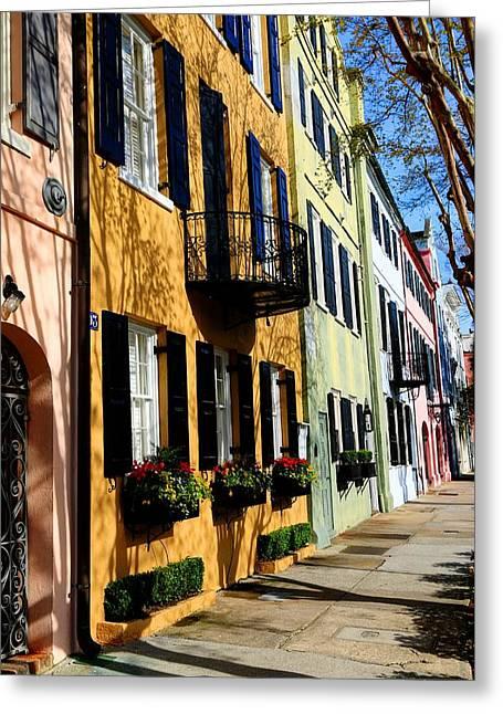 Color Of Charleston Greeting Card
