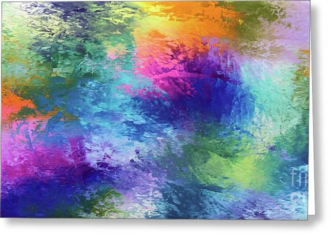 Color Of My Soul Greeting Card by Jo Ann Bossems
