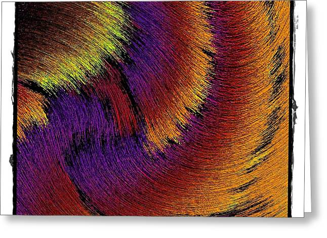 Color Silk Greeting Card by Terry Mulligan
