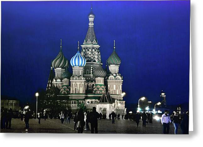 Color The Night Greeting Card by JAMART Photography