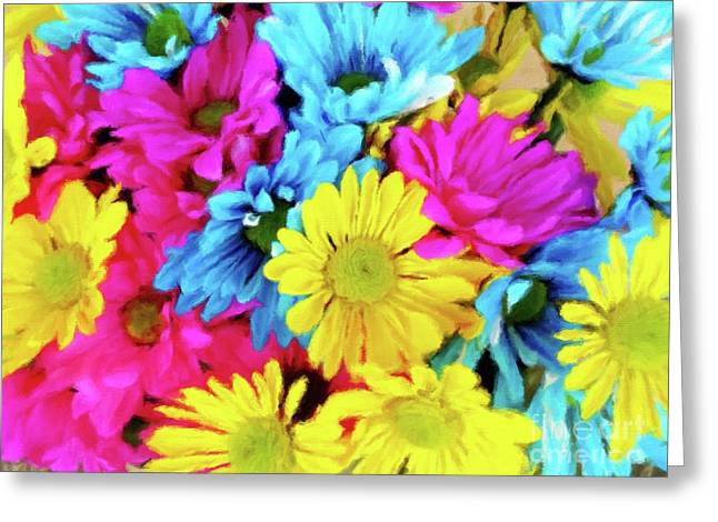 Color Therapy Greeting Card