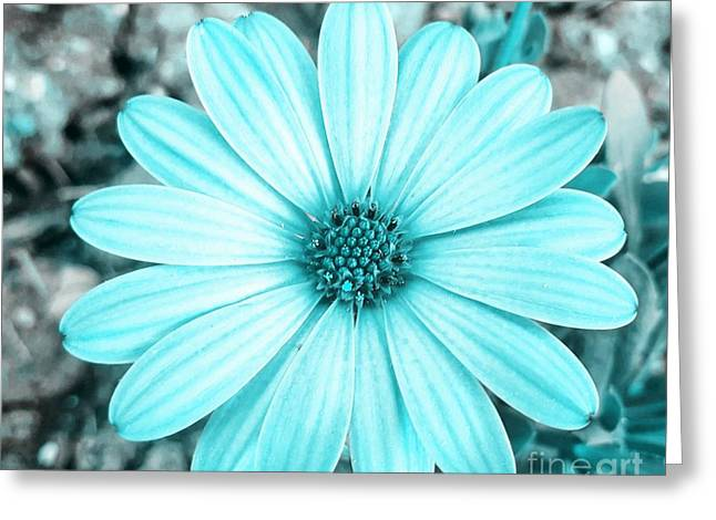 Color Trend Blue Blossom Greeting Card