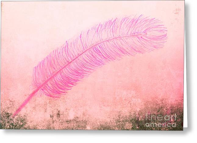 Color Trend Feather In The Wind Greeting Card