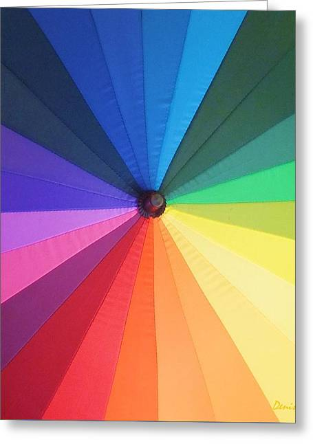 Color Wheel Greeting Card