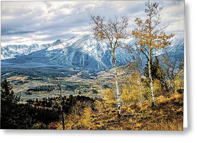 Colorado Autumn Greeting Card by Jim Hill
