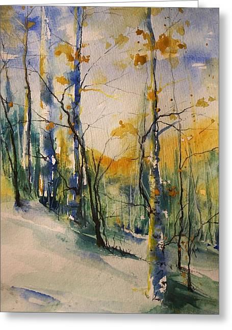 Colorado Bright Morning 1 Greeting Card