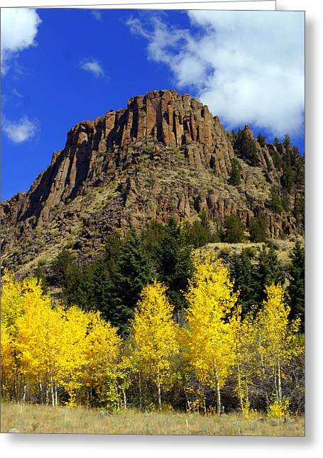 Colorado Butte Greeting Card by Marty Koch