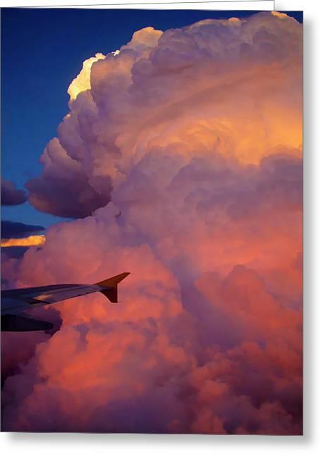 Colorado Cloud Greeting Card by Gina Cordova