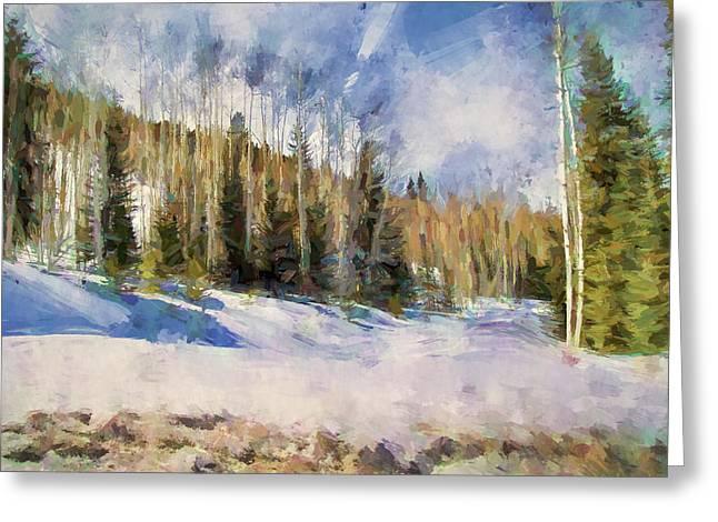Colorado Color Splash 3 Landscape Art By Jai Johnson Greeting Card by Jai Johnson