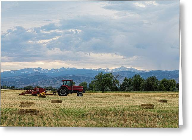Greeting Card featuring the photograph Colorado Country by James BO Insogna